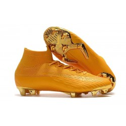 Nike Mercurial Superfly VI Elite ACC FG Boots - Gold
