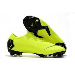 Nike Mercurial Vapor XII Elite FG New Soccer Boots - Volt Black