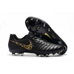 Nike Tiempo Legend 7 Elite FG Firm Ground Cleats - Black Safari