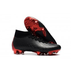 Nike Mercurial Superfly VI Elite ACC FG Boots - Nike x Jordan Black Red
