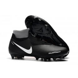 Nike Phantom VSN Elite DF FG Soccer Boots - Black Orange White