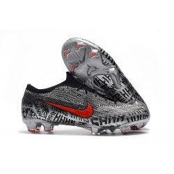 Nike Mercurial Vapor XII Elite FG Neymar Boots - Black White Red