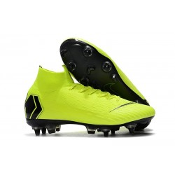 Nike Mercurial Superfly VI Elite Anti-Clog SG-Pro Volt Black