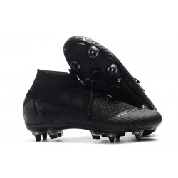 Nike Mercurial Superfly 6 Elite Anti-Clog SG Full Black