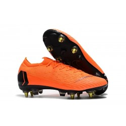 Nike Mercurial Vapor XII SG-Pro Anti-Clog Orange Black