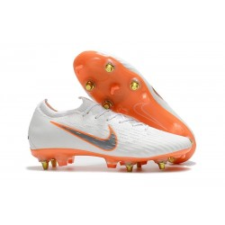 Nike Mercurial Vapor XII SG-Pro Anti-Clog White Orange