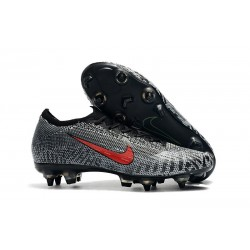 Nike Mercurial Vapor XII SG-Pro Anti-Clog Neymar White Red Black