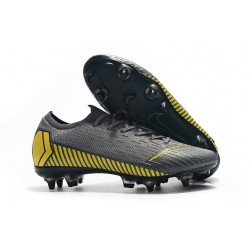 New Nike Mercurial Vapor 12 SG-Pro AC Grey Yellow