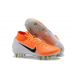 Nike Mercurial Superfly 6 Elite Anti-Clog SG Orange White