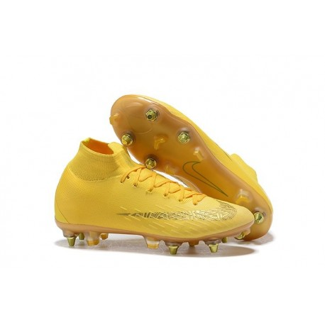 super cute 773d6 d1781 Nike Mercurial Superfly 6 Elite Anti-Clog SG Yellow Golden
