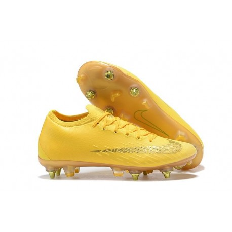 New Nike Mercurial Vapor 12 SG-Pro AC Yellow