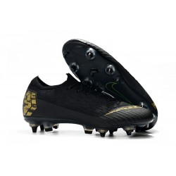 New Nike Mercurial Vapor 12 SG-Pro AC Black Golden