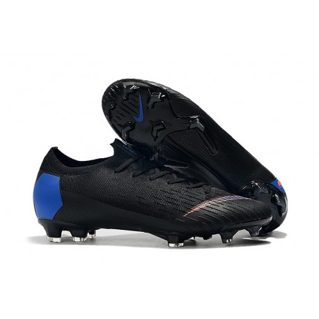 Nike Mercurial Vapor XII Elite 360 FG Soccer Boot Black Blue Orange