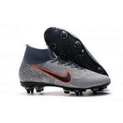 Nike Mercurial Superfly 6 Elite Anti-Clog SG Wolf Grey Black