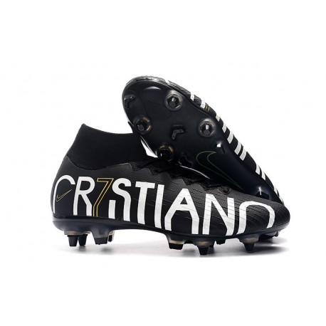 huge selection of 91ad4 ddd11 Cristiano Ronaldo CR7 Nike Mercurial Superfly 6 Elite Anti-Clog SG