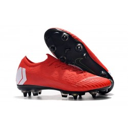 New Nike Mercurial Vapor 12 SG-Pro AC Red White