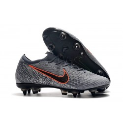 New Nike Mercurial Vapor 12 SG-Pro AC Wolf Grey Orange