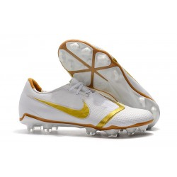 Nike Phantom Venom Elite FG Soccer Shoes White Gold