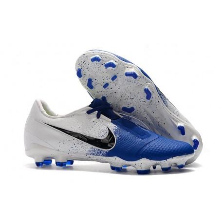 Nike Phantom Venom Elite FG White Black Racer Blue