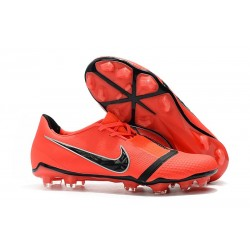 Nike Phantom Venom Elite FG Soccer Shoes Bright Crimson Black