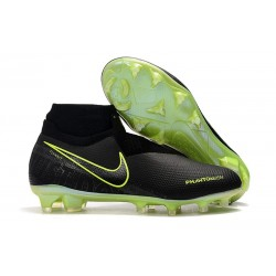 Nike Phantom Vision Elite FG ACC Soccer Cleat Black Volt