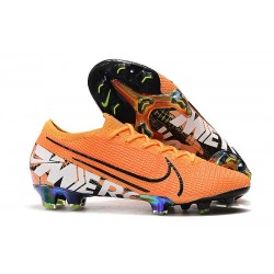 Nike Mercurial Vapor XIII Elite FG Men Boots Orange