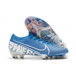 Nike Mercurial Vapor XIII Elite FG Men Boots Blue Hero White
