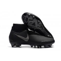 Nike Phantom Vision Elite Dynamic Fit FG Soccer Cleats - Black