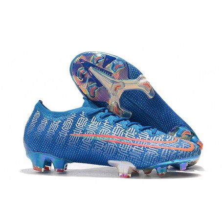 Nike Mercurial Vapor XIII Elite FG Men Boots Blue Red