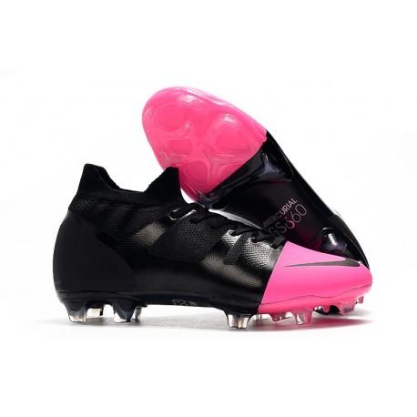 Nike Mercurial Superfly Greenspeed 360 Soccer Cleats - Black Pink