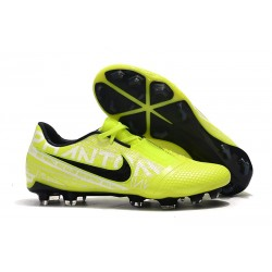Nike Phantom Venom Elite FG Soccer Shoes Volt White Obsidian
