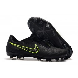 Nike Phantom Venom Elite FG Soccer Shoes Black Volt