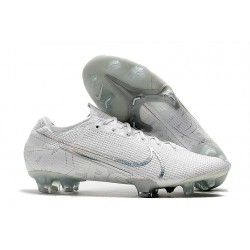 Nike Mercurial Vapor XIII Elite FG Men Boots White Pack