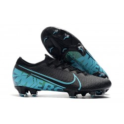 Nike Mercurial Vapor XIII Elite FG Men Boots Black Blue