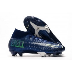 Nike Dream Speed Mercurial Superfly VII Elite FG Blue White Volt