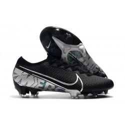 Nike Mercurial Vapor 13 Elite Flyknit FG - Black Silver