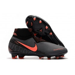 Nike Phantom Vision Elite FG ACC Dark Grey/Bright Mango/Black