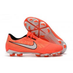 Nike Phantom Venom Elite FG Soccer Shoes Bright Mango White