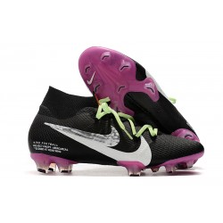 Nike Mercurial Superfly 7 Elite FG News Boot Black Purple White