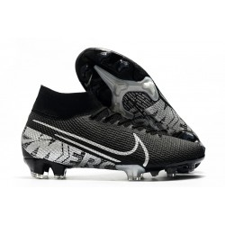 Nike Mercurial Superfly 7 Elite FG News Boot Black Grey