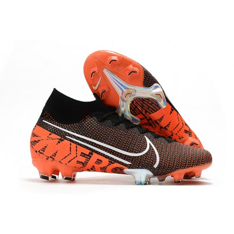 Nike Mercurial Superfly 7 Elite FG News Boot Black Hyper Crimson