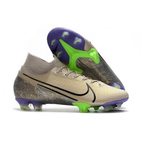 Nike Mercurial Superfly VII Elite FG Soccer Shoes - Desert Sand