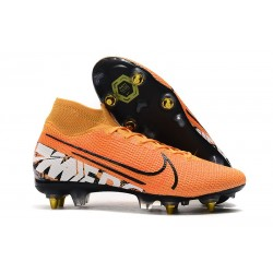 Nike Mercurial Superfly VII Elite SG Pro Orange White