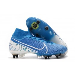 Nike Mercurial Superfly VII Elite SG Pro New Lights Blue White