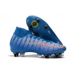 Nike Mercurial Superfly VII Elite SG Pro Blue Red