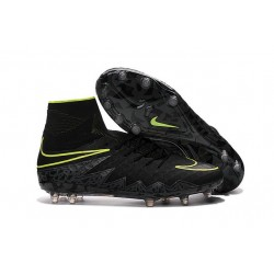 Nike Mens Hypervenom Phantom 2 FG Soccer Cleats Black Volt