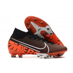 Nike Mercurial Superfly 7 Elite AG-PRO Black White Hyper Crimson