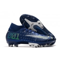 Nike Mercurial Superfly 7 Elite AG-PRO Blue Void Volt White