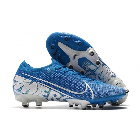 Nike Mercurial Vapor 13 Elite AG-PRO Artificial-Grass Blue White