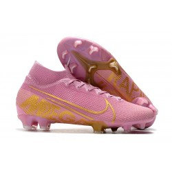 Nike Mercurial Superfly 7 Elite FG News Boot Pink Gold
